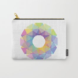 Fig. 036 Colorful Circle Carry-All Pouch
