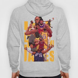 King james of Champion Hoody