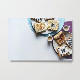 Typical Breakfast Metal Print