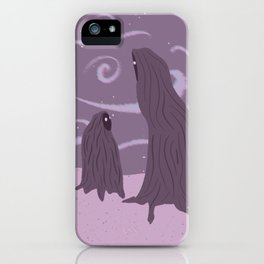 Strangers iPhone Case