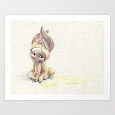 Baby-Pee-a-Little Art Print