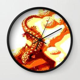 Kuhl's Kit Kat Klub: Who's Afraid Of The Big Bad Salamander? Wall Clock