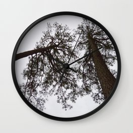 Hammock Skies Wall Clock