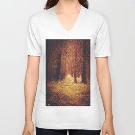 Forest Path Unisex V-Neck