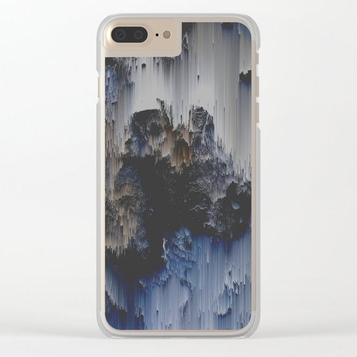 Fossilized Clear iPhone Case