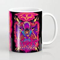 jojo Mugs featuring MOJO JOJO: CURSES by BeastWreck