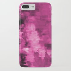 Paint 4 abstract minimal modern art painting canvas affordable art passion pink urban decor Slim Case iPhone 7 Plus
