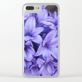 Purple Perfume Clear iPhone Case