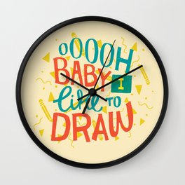 Shimmy Shimmy Wall Clock
