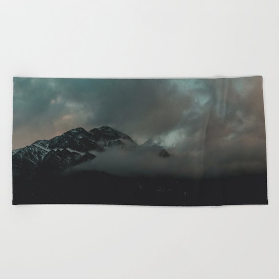 Mountain in the Clouds Beach Towel