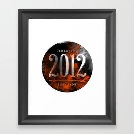 2012 Suvivor Framed Art Print