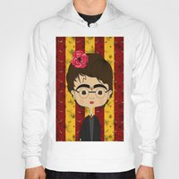potter Hoodies featuring Frida Potter by Camila Oliveira