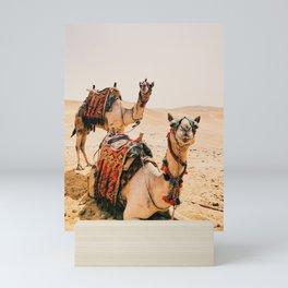 Camels Mini Art Print