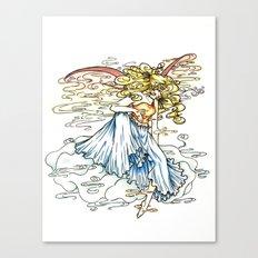 Elemental series - Air Canvas Print