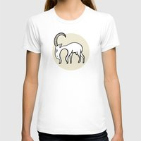 goat T-shirts featuring Goat by Emir Simsek
