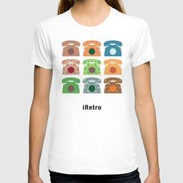 iRetro (boys) / black T-shirt