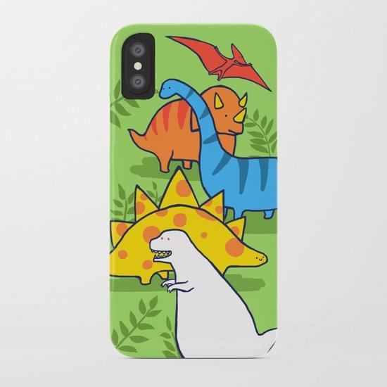 Albinosaur iPhone Case