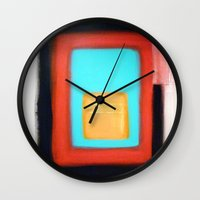 rothko Wall Clocks featuring Living Rothko by Heaven7