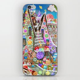 The Gingerbread Mansion iPhone Skin