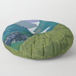Gros Morne Floor Pillow
