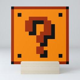 Question Block Mini Art Print