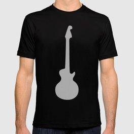 Simple Grey Guitar T-shirt