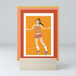 Rollin Bright Mini Art Print