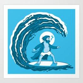 Surf's Up Art Print