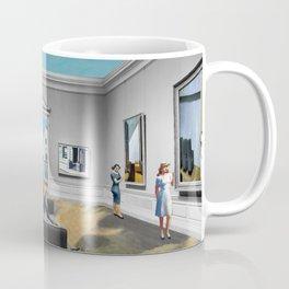 Edward Hopper Brought to Life Coffee Mug