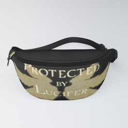 Protected by Lucifer Light Fanny Pack