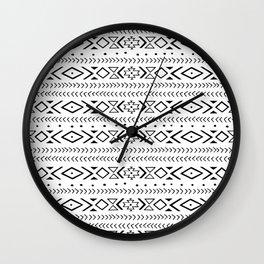 boho spirit Wall Clock