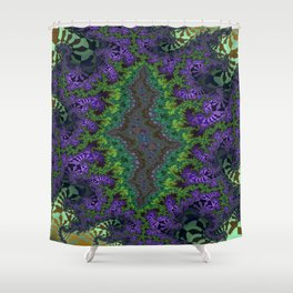Fractal Abstract 91 Shower Curtain