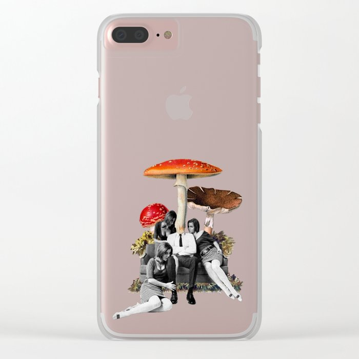 Upper Class Dealer Clear iPhone Case