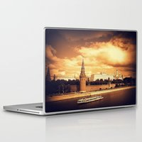 moscow Laptop & iPad Skins featuring Moscow Kremlin by Amdis Rain