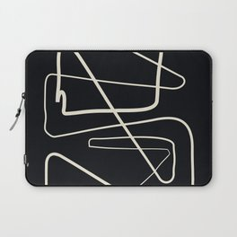 Movements Black Laptop Sleeve