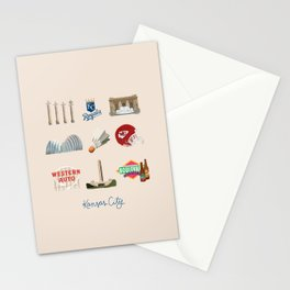 Kansas City, Missouri Stationery Cards