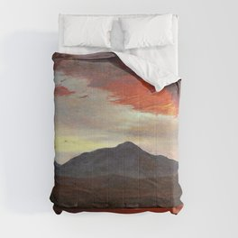 Twlight - Frederic Edwin Church Comforters