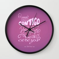 poem Wall Clocks featuring Poem 14 by LizzyG