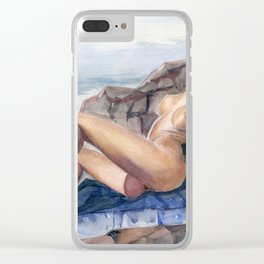 Miss Natural V Clear iPhone Case