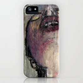 sky, sometimes falling iPhone Case