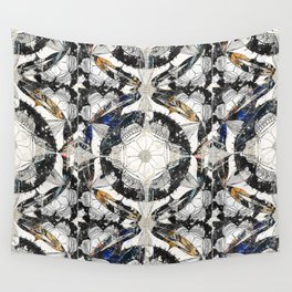 Cosmic Mandala Pattern Wall Tapestry