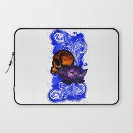 Lotus Skull Laptop Sleeve
