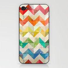 Chevron Rainbow Quilt iPhone & iPod Skin