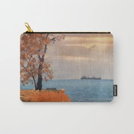 Autumn by the sea Carry-All Pouch