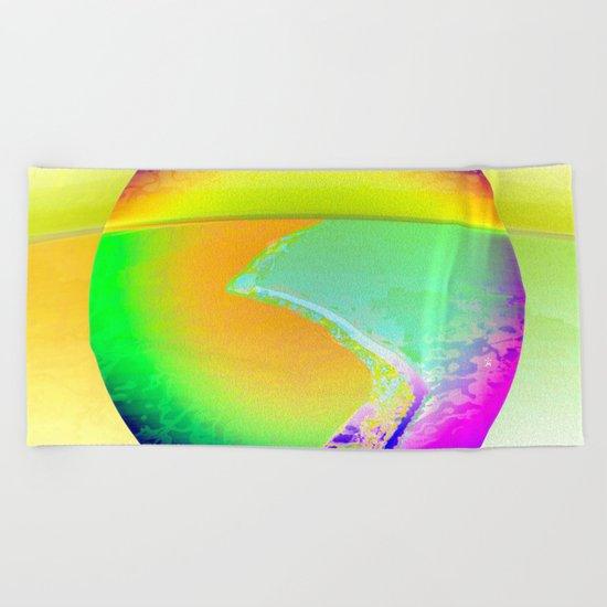 Iceberg A68 - Ultraviolet Beach Towel