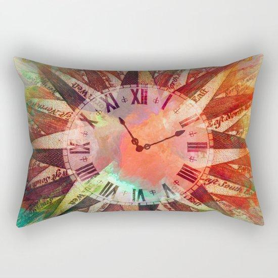 Synchronicity 11:11 Clock Face Time Design Rectangular Pillow