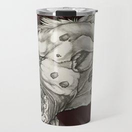 GMDs Laughing Hyena Lager Travel Mug