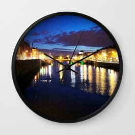 Liffey Twighlight Wall Clock