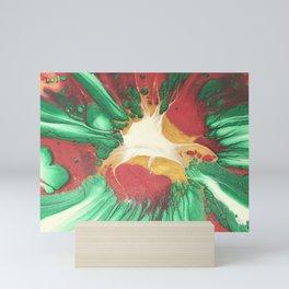 Red Emerald Spin Mini Art Print
