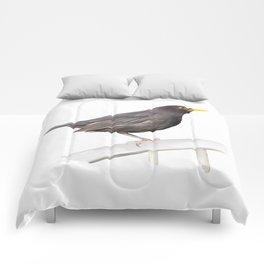 Ms. Blackbird is Brown Comforters